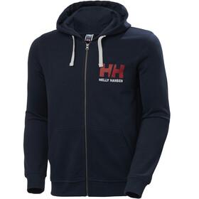 Helly Hansen HH Logo Veste à capuche zippée Homme, navy